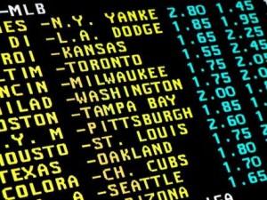 Sports betting line