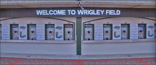 'Welcome to Wrigley Field' Chicago (IL) 2012
